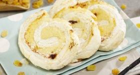 Melcişor cu brânză şi stafide